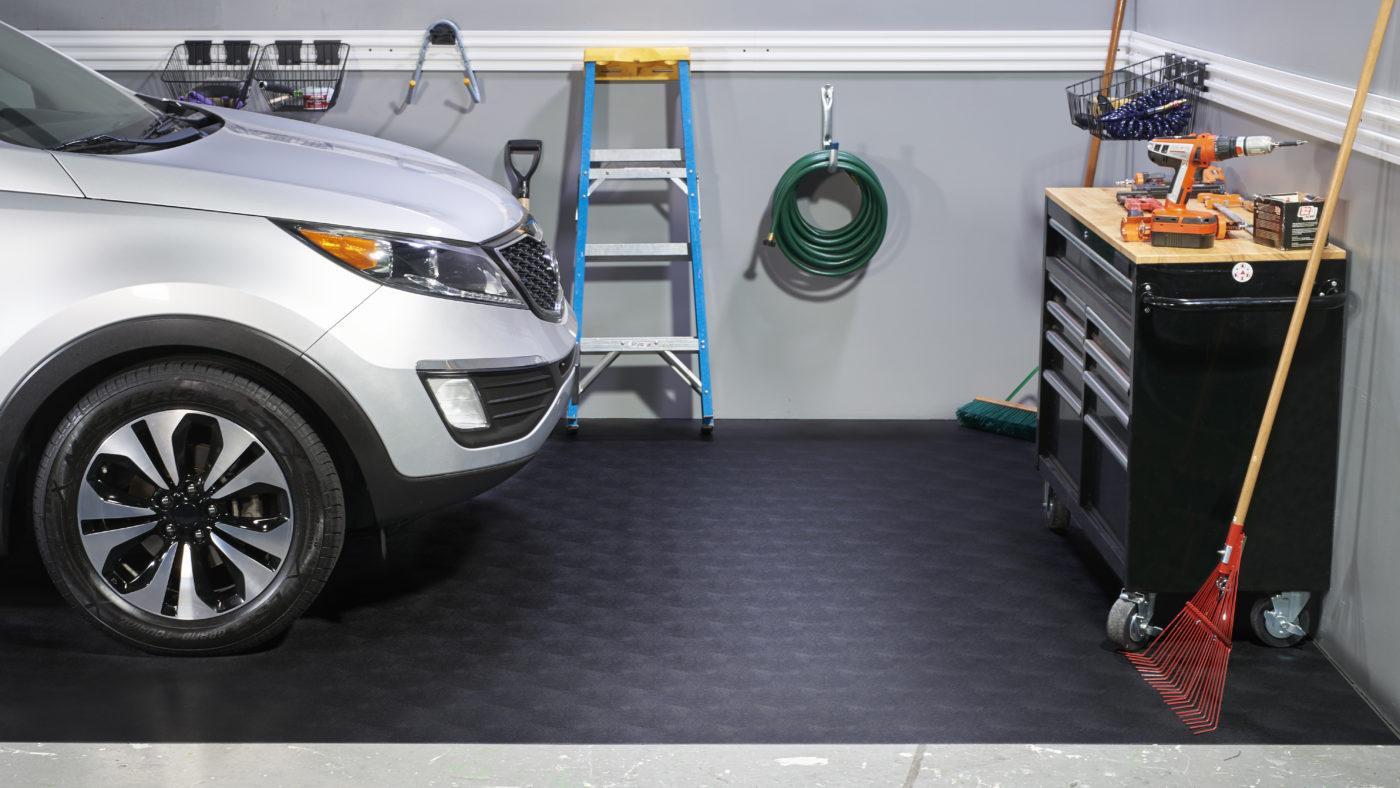 Garage Vinyl Flooring By GFloor Better Life Technology - Polyvinyl garage floor covering