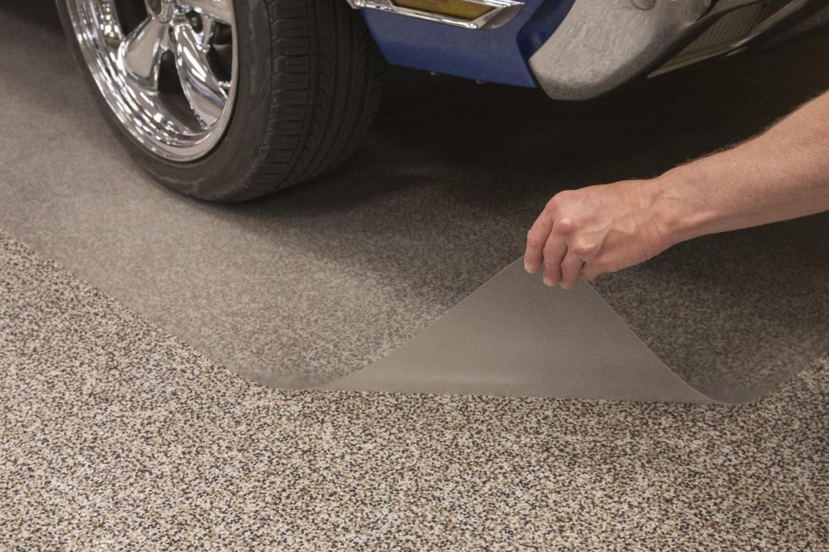 Clear Solid Vinyl Floor Protector Goes